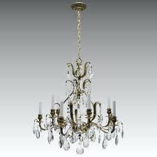 10 light chandelier vintage chandelier brass crystal lights burkley 10 light sputnik chandelier