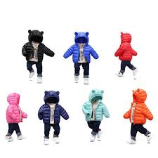 childrens winter jackets baby boys coat kids parka girl winter coat toddler infant hooded down cotton