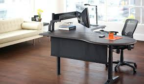 office desk solutions. Single Sit Stand Desk Solution Corner Office Solutions Home Small