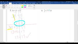 solving linear equations mixed review part 2