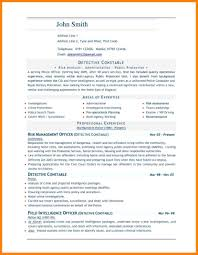 6 Job Resume Template Word Writing A Memo Professional Free