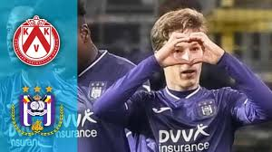 Kortrijk vs Anderlecht (1-3) Match Highlights #Kortrijk #Anderlecht -  YouTube