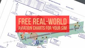 Uk Aerodrome Charts Get Real World Aviation Charts For Free Inc Instrument Approach Sid Star Taxi And En Route