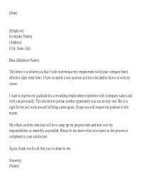 Resignation Letter Pdf Word Resignation Letter Template Doc Best Of