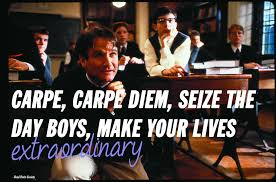 robin williams inspirational movie quotes from the comedy legend cape diem dead poets society