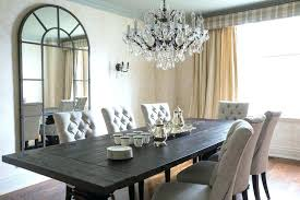 lighting dining room table. Chandelier Above Dining Table Crystal Room Modern Lighting