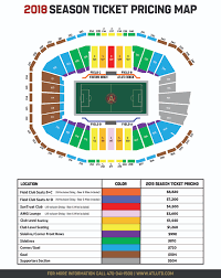 Peach Bowl Seating Chart 2018 Season Ticket Pricing Atlanta United Fc
