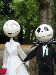 Nightmare Before Christmas Scarecrow | Holiday Ideas | Pinterest