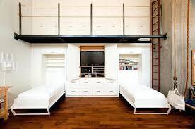diy twin murphy bed. Twin Murphy Bed Bedroom Industrial Guest Medium Tone Wood Floor Idea In With White Walls Diy