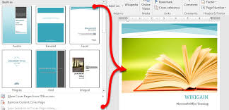 How To Add Cover Page In Microsoft Word 2016 Wikigain