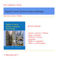 Digital Control System Analysis And Design Pdf Bestsellers Pdf Books Digital Control System Analysis