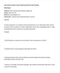 customer service representative duties for resumes resume examples for customer service jobs call center representative