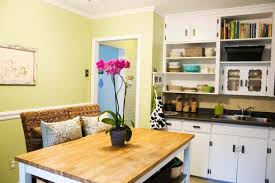 Bright Kitchen Color Bright Small Kitchen And Dining Room Color
