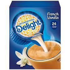 Compare international delight coffee creamer to creamers & flavoring from nestle coffee mate, califia farms, leaner coffee creamer, nutpods, folgers, organic valley. International Delight French Vanilla Singles Coffee Creamer 24ct Target