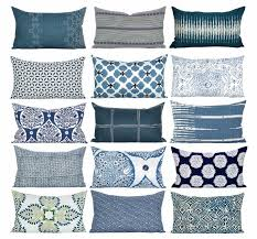 blue and white pillows. Fine White Much Each And Every One Of The Blue White Lumbar Pillows Here Are  A Few Picks Iu0027m Loving Lately Now To Just Narrow It Down I Want Them ALL With Blue And White Pillows T