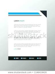 Professional Company Letterhead Sample Letterhead Template Professional Layout Services