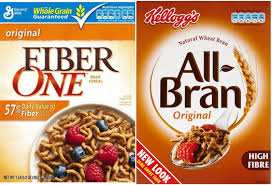 fiber one original vs kellogg s all bran original