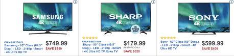 sharp 65 inch tv roku. black friday 2017: 60-inch tv deals sharp 65 inch tv roku 0