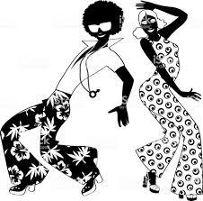 ディスコ ダンサー クリップアート アフロのベクターアート素材や画像