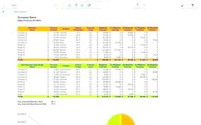 5 Year Sales Forecast Template Forecasting Spreadsheet How