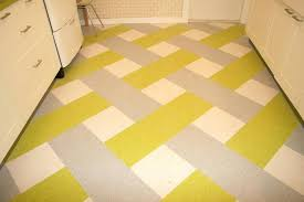 armstrong vct tile in a green blue and white pattern by samples