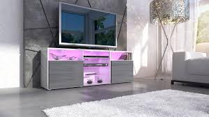 Purple High Gloss Bedroom Furniture Tv Stand Unit Granada In White White High Gloss Amazoncouk