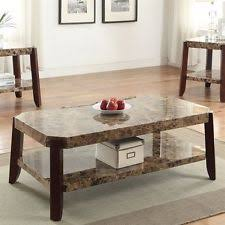 faux marble coffee table. Dacia Faux Marble Coffee Table 82125 New D
