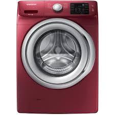 samsung stackable washer dryer. Modren Dryer Samsung 45cu Ft High Efficiency Stackable FrontLoad Washer Merlot  ENERGY On Dryer