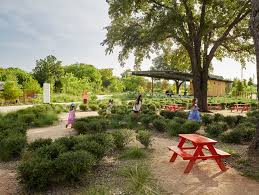 take a nature walk through the lone star state and admire historic homes from around texas when you visit the san antonio botanical garden