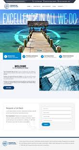 Financial Institutions Website Design Entry 28 By Djmcampo For Website Design For Financial