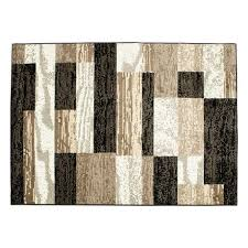 hometrends alo black and beige area rug image 1 of 3