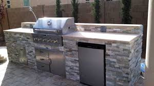 built in bbq. Built-in-bbq-travertine-SM Built In Bbq