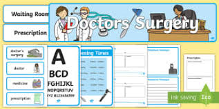 Class Mastery Doctors Note Doctors Surgery Role Play Primary Resources