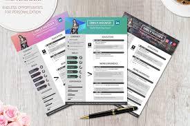 pro cv template modern resume template creative pro design bundles