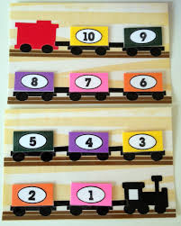 project no sew toddler quiet book page idea counting train