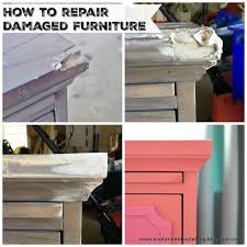 corner furniture piece. How To Fix A Damaged Piece Of Furniture - Evolution Style Corner