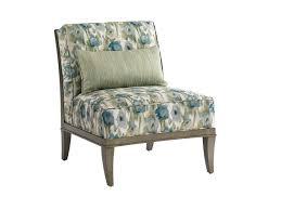 montaigne armless chair