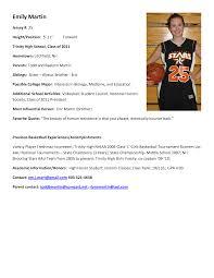 Resume Bio Example Best Photos Of Athlete Bio Template Football Player Resume 91