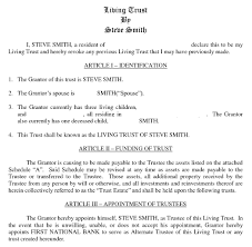 Sample Living Trust Form Living Trust Form Current Trusts Used Control Assets Orange County 2