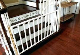 Staircase Safety Gate Baby Gate For Stairs Gate For Bottom Of Wide ...