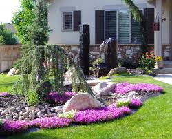 flower garden ideas in front of house images1