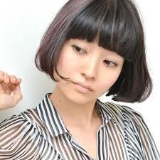 ぱっつんボブで大人可愛くおすすめヘアスタイルと簡単スタイリング法