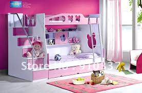 Bunk bed with stairs for girls Cute Cool Bunk Beds Girls Stairs Pink Ebay Kindery Pink Loft Beds With Desk For Girls Bunk Stairs Kindery