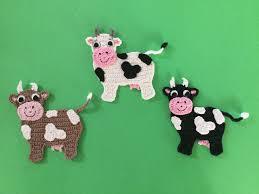 Crochet Cow Pattern Amazing Decorating Design