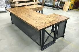 industrial style office desk modern industrial desk. Contemporary Industrial Industrial Style Office Furniture Country  And Industrial Style Office Desk Modern L