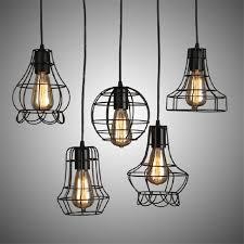 rustic wire chandelier modern edison bulb chandelier 110v 220v led pendant lamps world market rustic wire