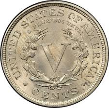 1897 5c Ms Liberty Head Five Cents Ngc