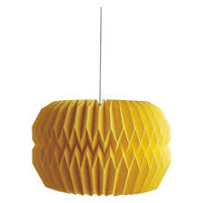 kura yellow large paper origami lampshade promotion previous next