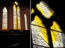 the silver light of the sun of ancient latvian poetry was symbolically recreated in the 30 windows of st andrews lutheran church in toronto on