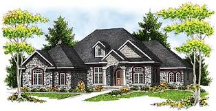 Plan W89033AH French Country Ranch Home Plan  EARCHITECTURAL DesignFrench Country Ranch Style House Plans